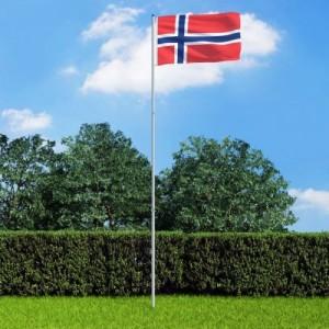 Norvég zászló...
