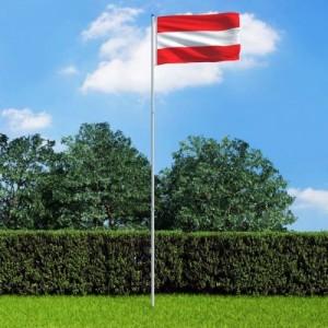 Osztrák zászló...