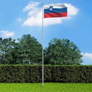 Szlovén zászló...