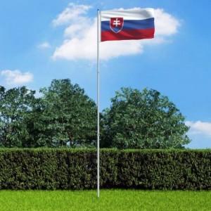 Szlovák zászló...