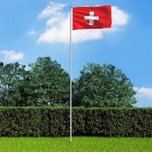 Svájci zászló...