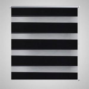 Zebra roló 100 x 175 cm Fekete