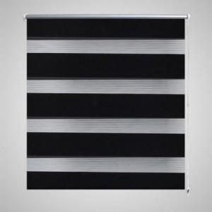 Zebra roló 80 x 150 cm Fekete