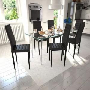 6 db bordázott szék étkező...
