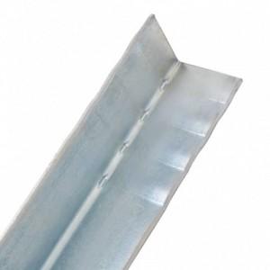 12 db L-alakú földi horganyzott acélból 5 x 5 x 50 cm