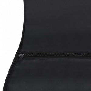Fekete szövet gitártok 4 4-es klasszikus gitárhoz 102 x 36,5 cm