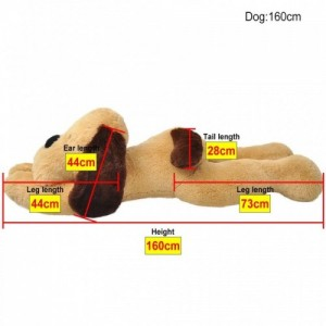 Barna ölelni való plüss kutya 160 cm