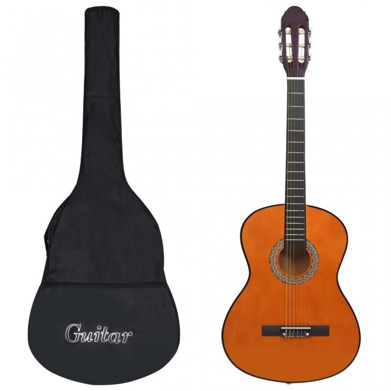 4 4-es klasszikus gitár kezdőknek tokkal 39'