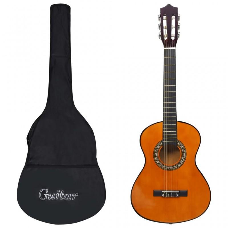 1|2-es klasszikus gitár kezdőknek és gyereknek tokkal 34'