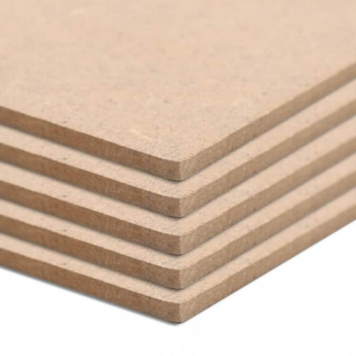 20 db négyzet alakú MDF-lap 60x60 cm 2,5 mm