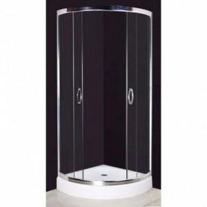 Ívelt zuhanykabin 80 x 80 cm