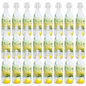 24 db csatos üvegpalack 1 l