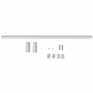 Törölközőszárító ratiátor 542mm + Fűtés Panel Fehér 545 mm x 900 mm