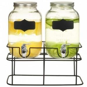 2 darab üveg italadagoló...