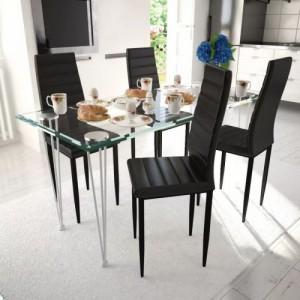 4 db bordázott szék étkező...