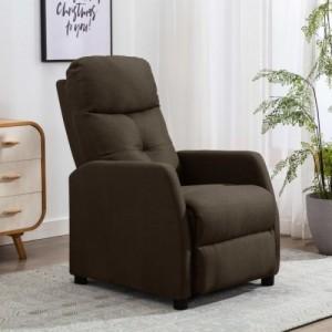 Barna szövet dönthető fotel