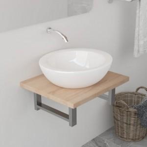 Tölgy-színű fürdőszobai...