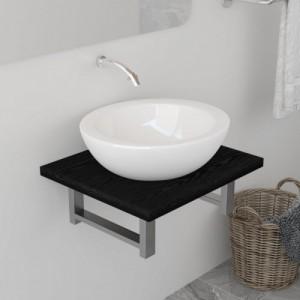 Fekete fürdőszobai bútor 40...