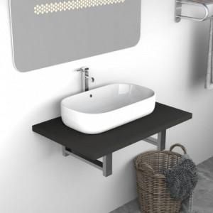 Szürke fürdőszobai bútor 60...