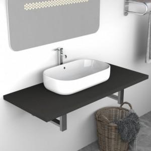Szürke fürdőszobai bútor 90...