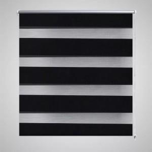 Zebra roló 90 x 150 cm Fekete