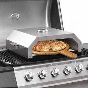 Pizzasütő kerámialappal...