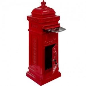 Hagyományos antik postaláda...