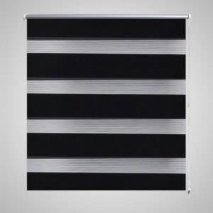 Zebra roló 50 x 100 cm Fekete