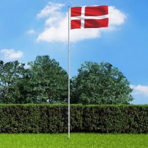 Dán zászló alumíniumrúddal 6 m