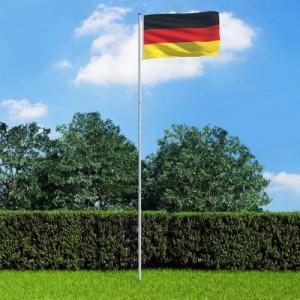 Német zászló...